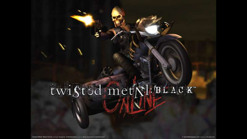 Twisted Metal: Black Online wallpaper or background 02