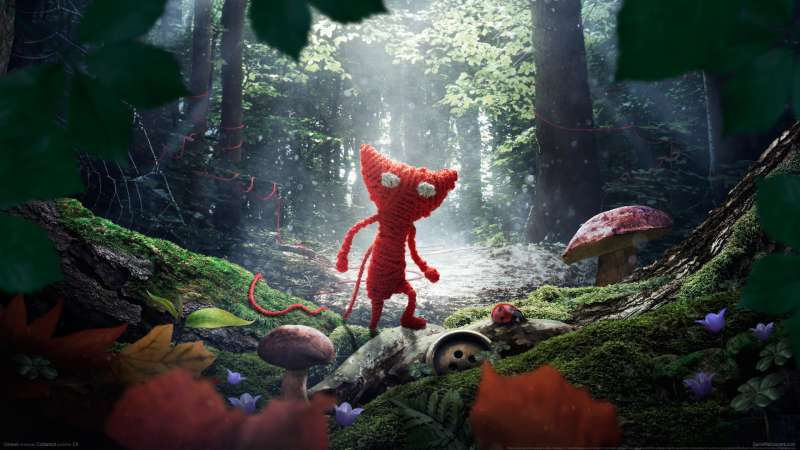 Unravel wallpaper or background 01