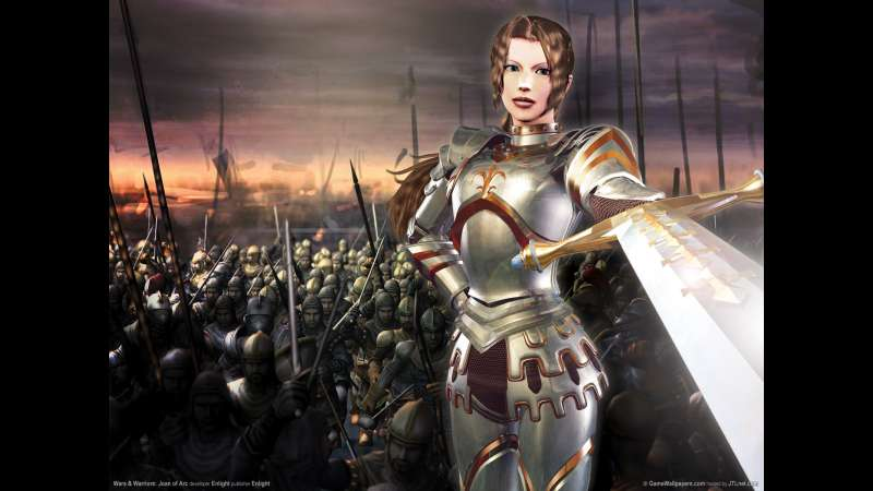 Wars & Warriors: Joan of Arc wallpaper or background 01