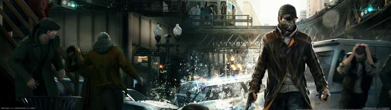 Watch Dogs dual screen wallpaper or background