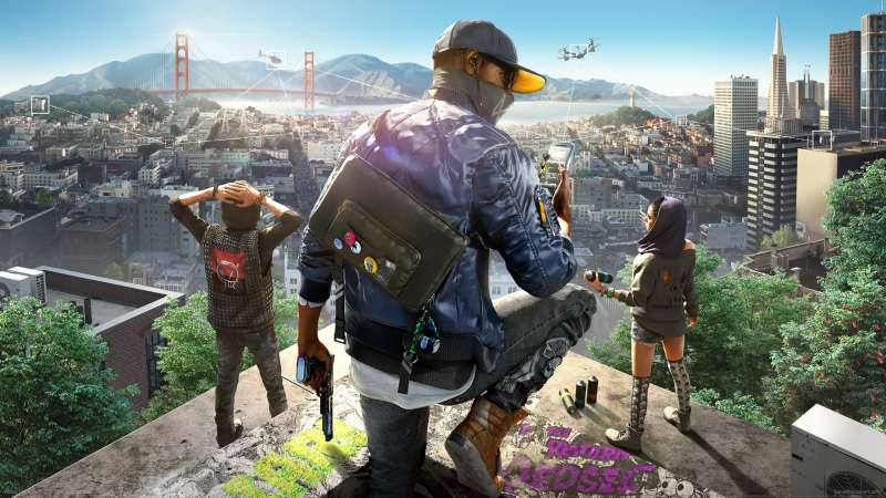 Watch Dogs 2 wallpaper or background 01