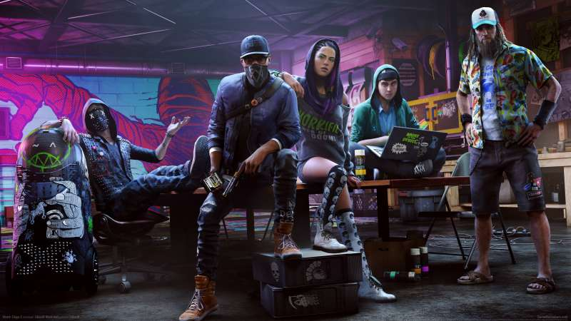 Watch Dogs 2 wallpaper or background 03