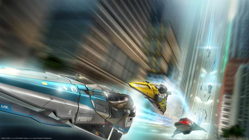 WipEout 2048 wallpaper or background 01
