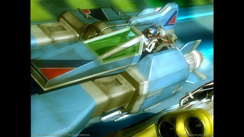 WipeOut Fusion wallpaper or background 01