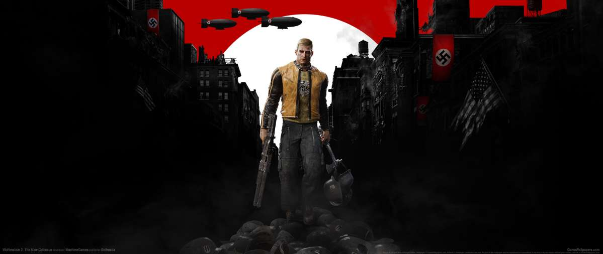 Wolfenstein 2: The New Colossus wallpaper or background