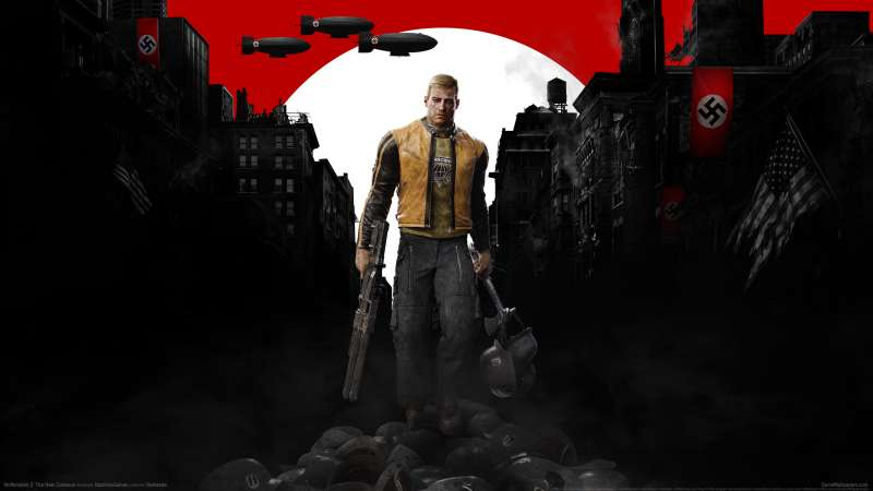 Wolfenstein 2: The New Colossus wallpaper or background 01