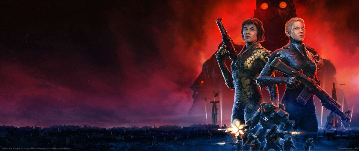 Wolfenstein: Youngblood ultrawide wallpaper or background 01