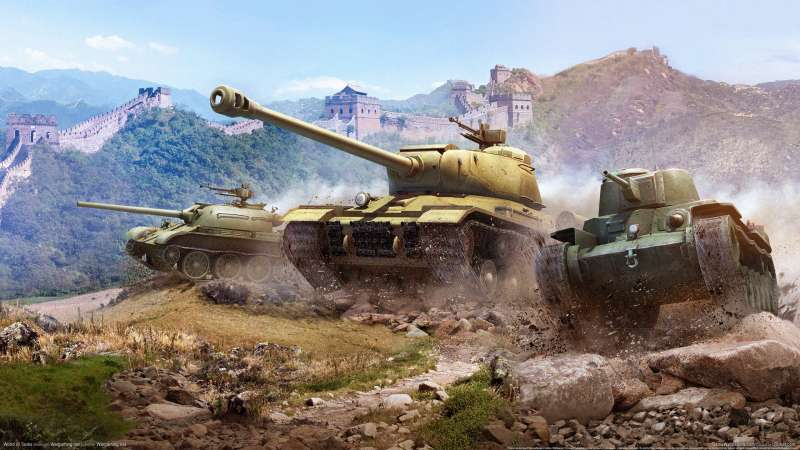World of Tanks wallpaper or background 03