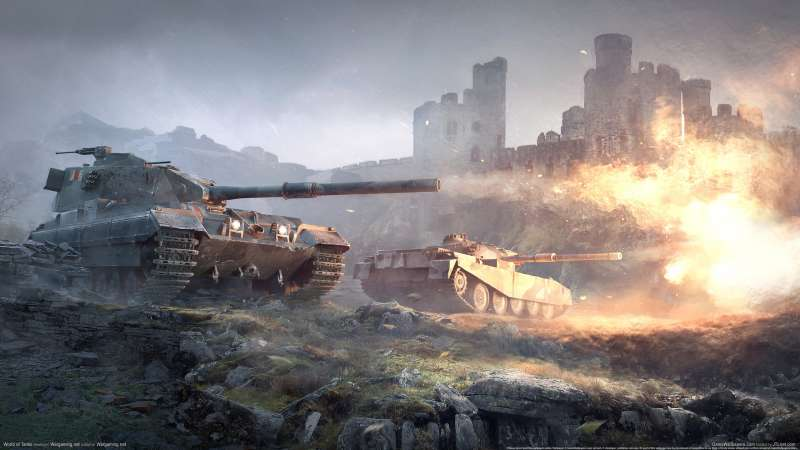 World of Tanks wallpaper or background 04