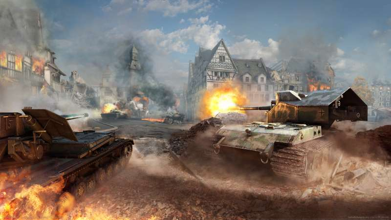 World of Tanks wallpaper or background 09