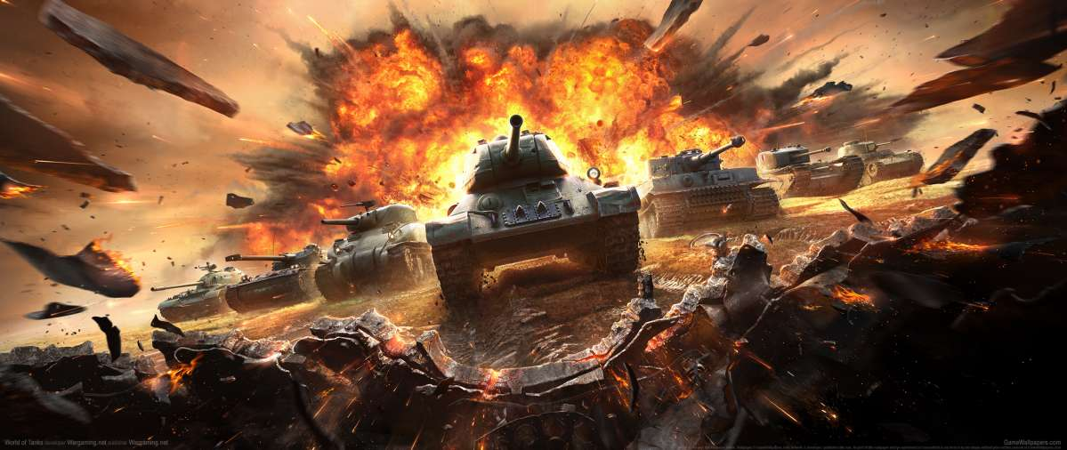 World of Tanks ultrawide wallpaper or background 13