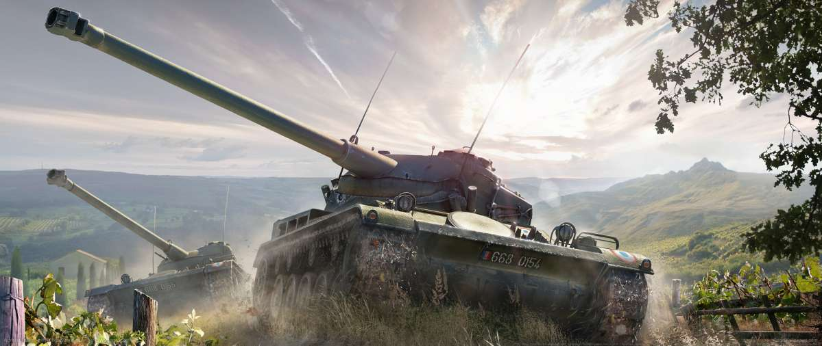 World of Tanks ultrawide wallpaper or background 15