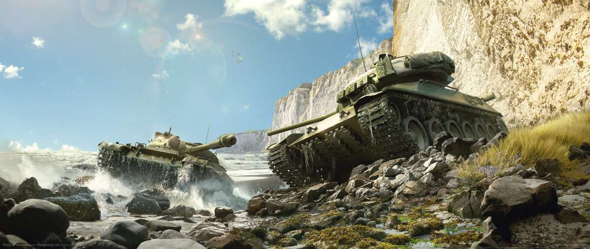 World of Tanks ultrawide wallpaper or background 18