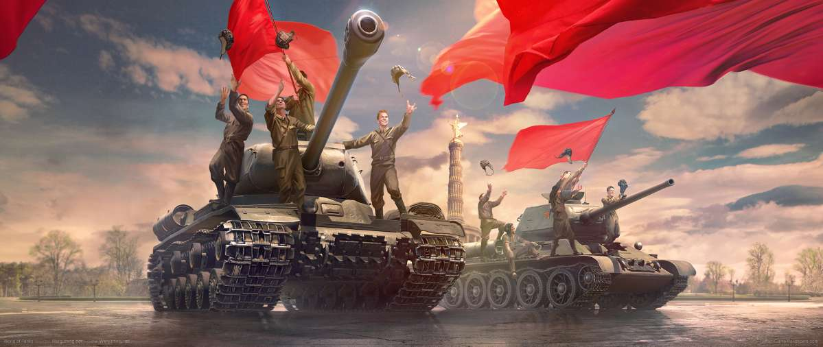 World of Tanks ultrawide wallpaper or background 19