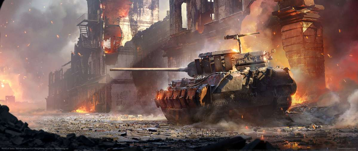 World of Tanks: Mercenaries wallpaper or background