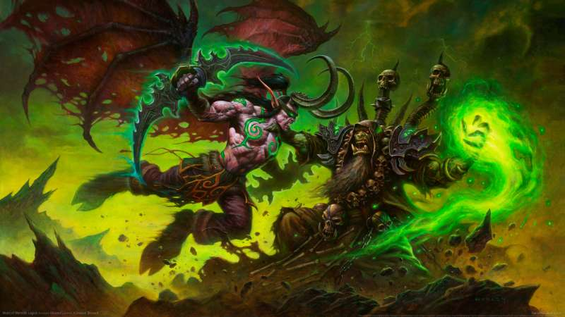 World of Warcraft: Legion wallpaper or background