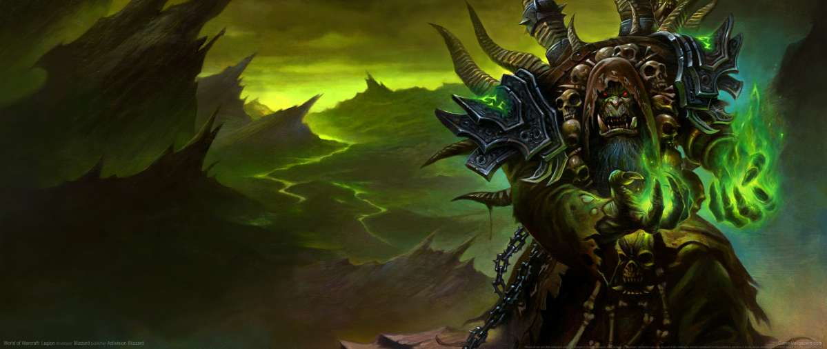World Of Warcraft Legion Ultrawide Wallpaper Or Background 03