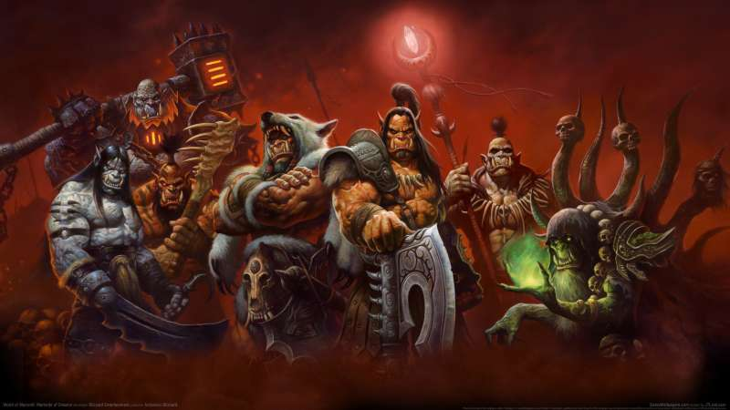 World of Warcraft: Warlords of Draenor wallpaper or background 01