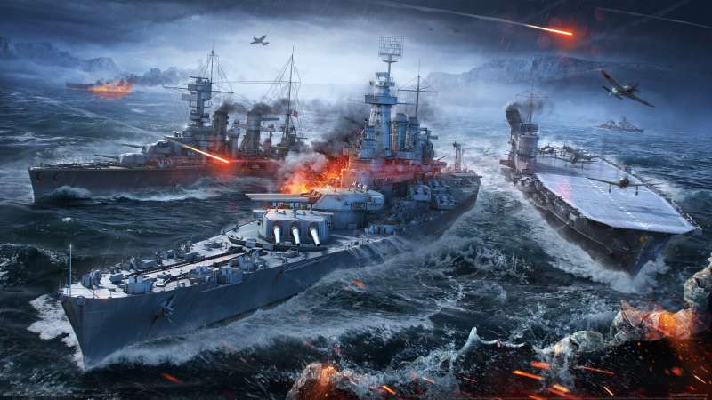World of Warships wallpaper or background 09