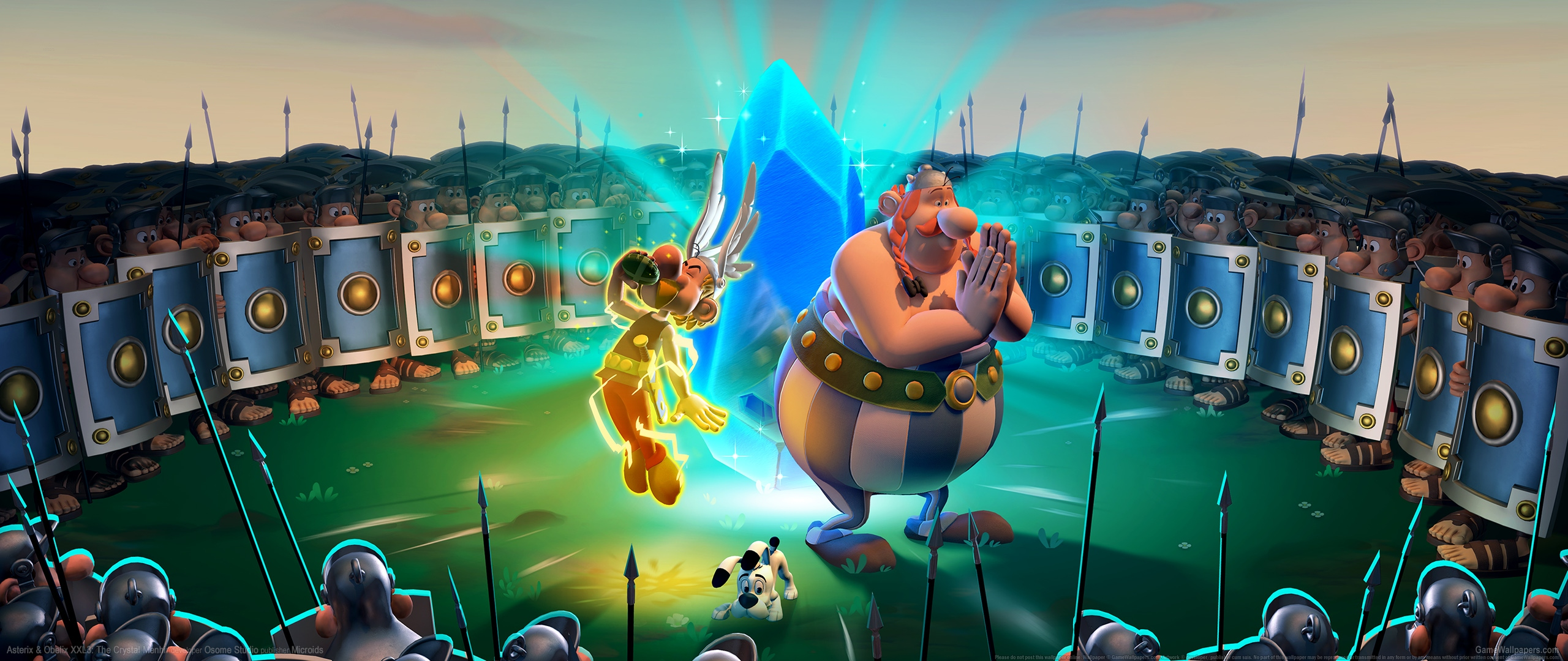 Asterix & Obelix XXL3: The Crystal Menhir 2560x1080 Hintergrundbild 01