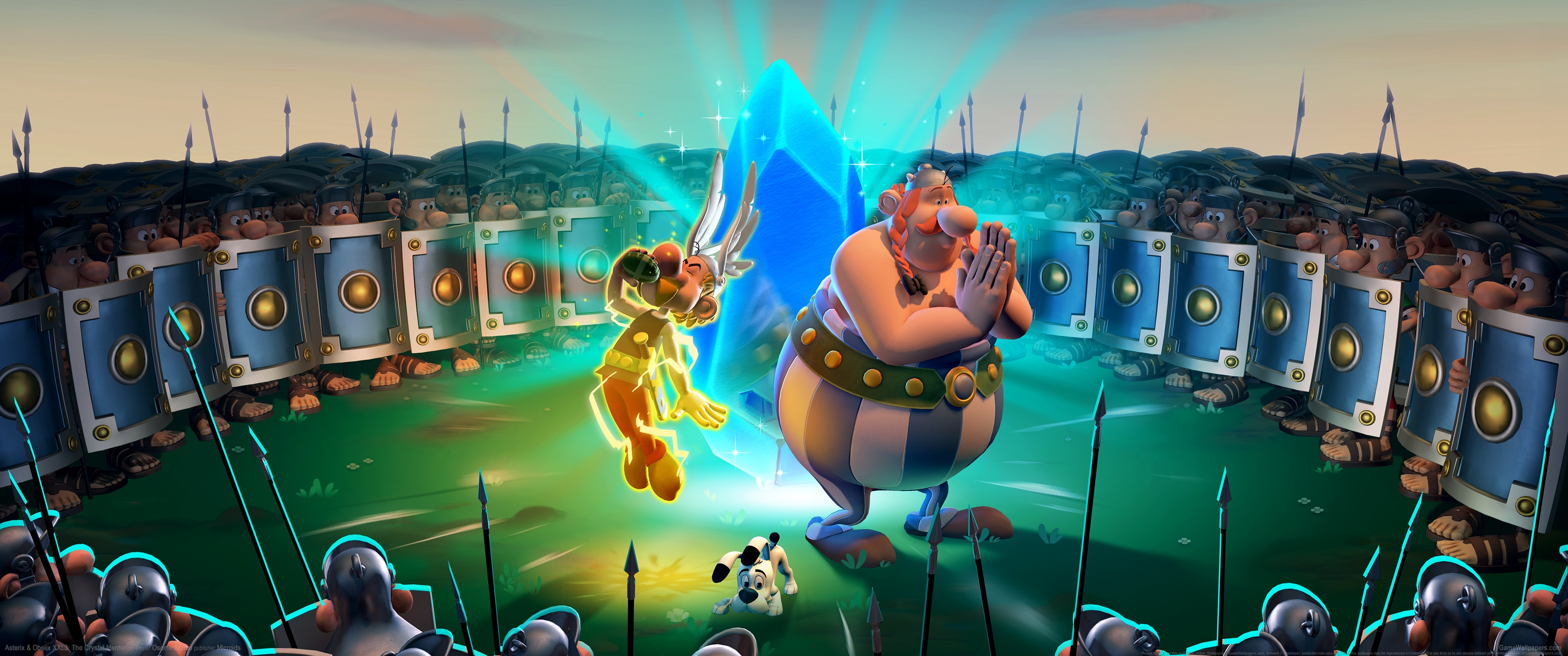 Asterix & Obelix XXL3: The Crystal Menhir 3440x1440 wallpaper or background 01