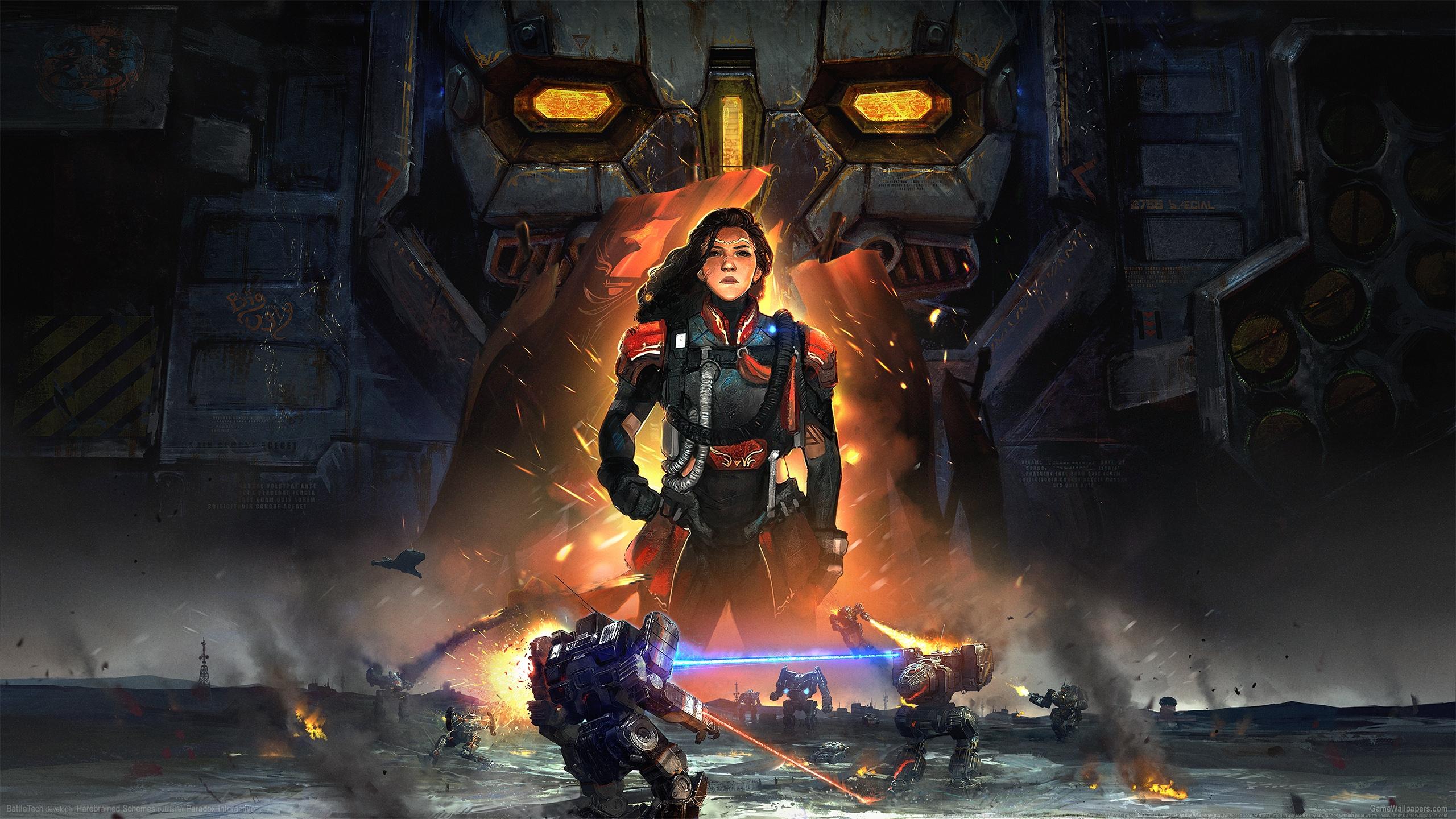 BattleTech 2560x1440 achtergrond 01