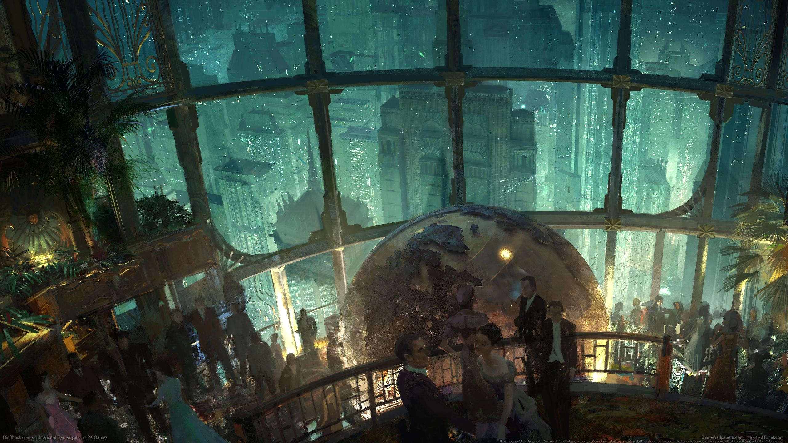 BioShock 2560x1440 Hintergrundbild 06