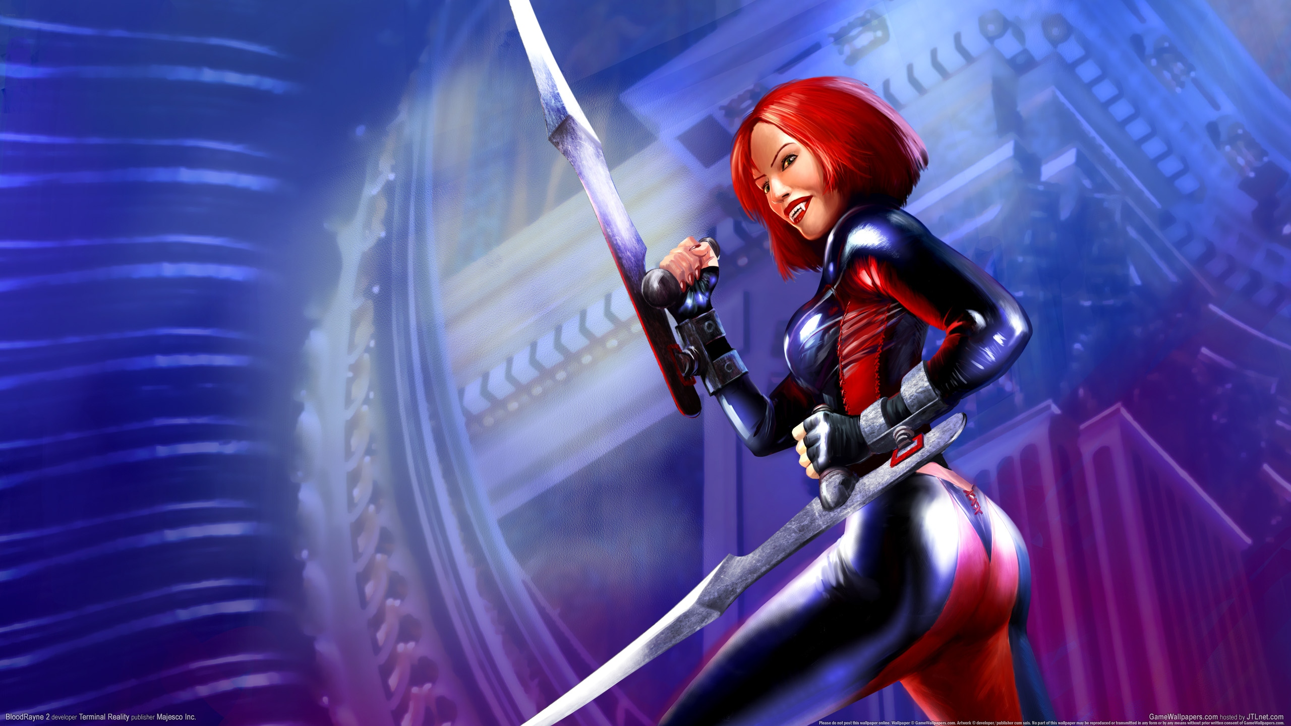 BloodRayne 2 2560x1440 wallpaper or background 08