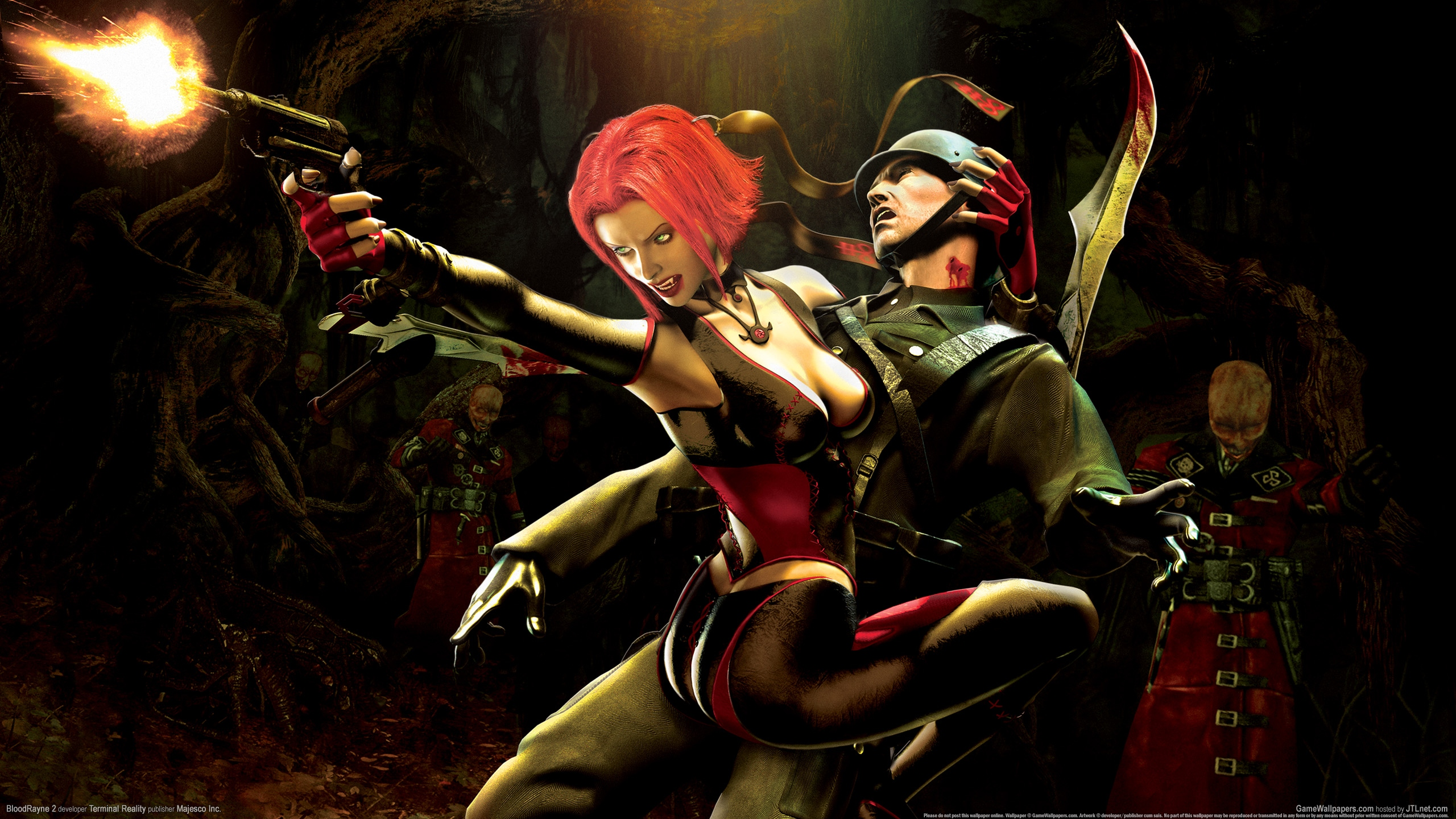 BloodRayne 2 2560x1440 wallpaper or background 09