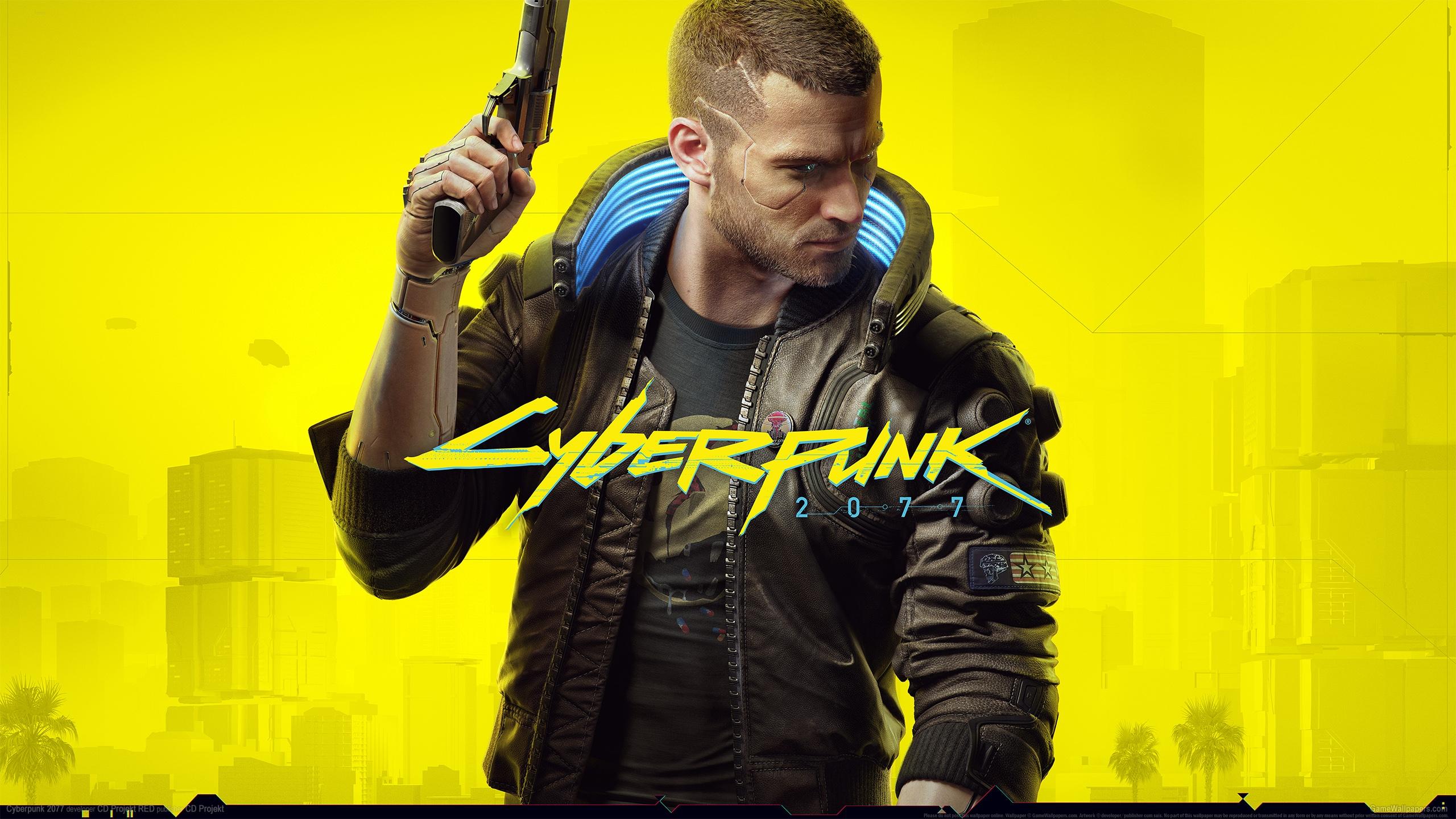 Cyberpunk 2077 2560x1440 achtergrond 18