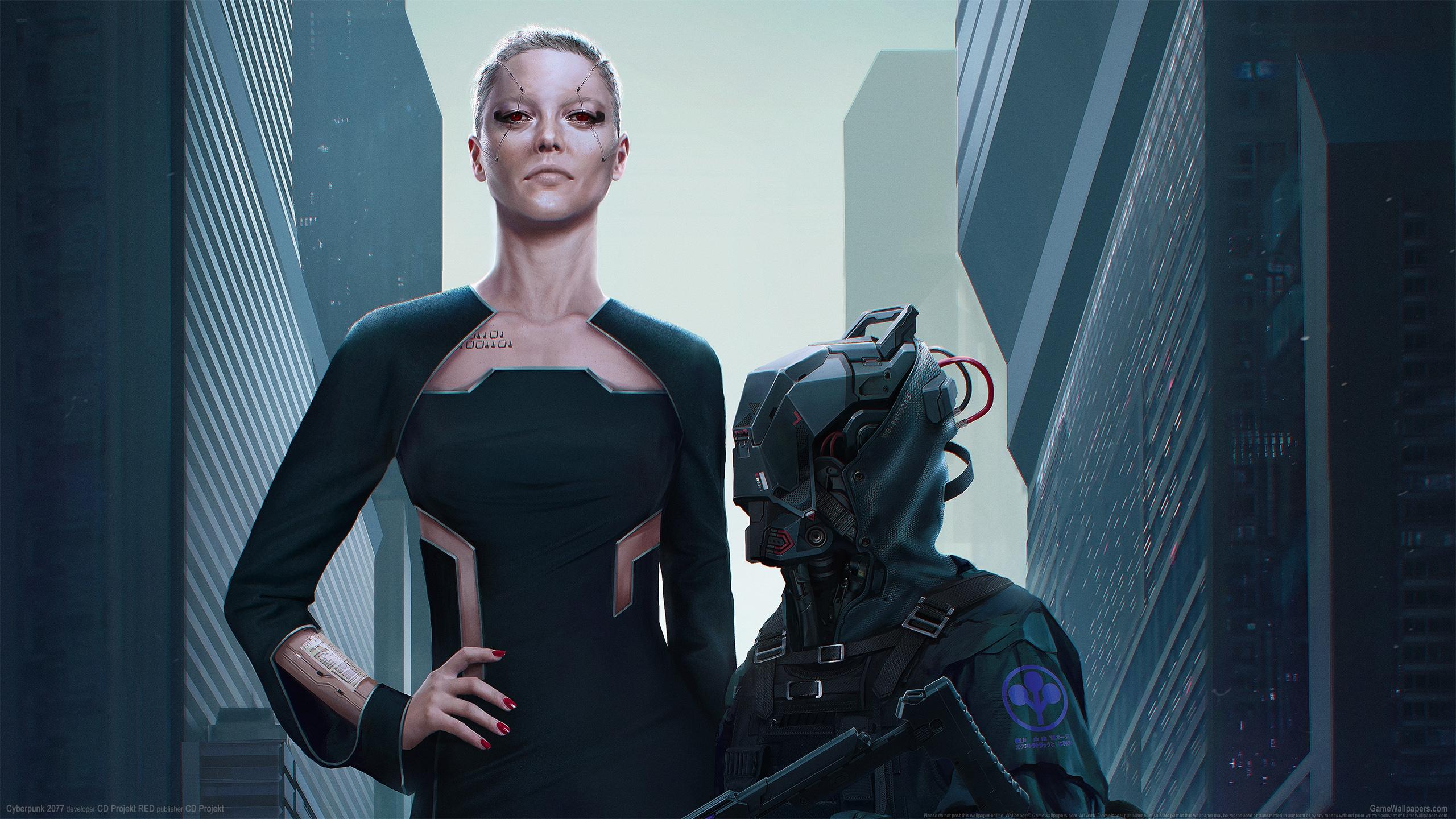 Cyberpunk 2077 2560x1440 Hintergrundbild 22