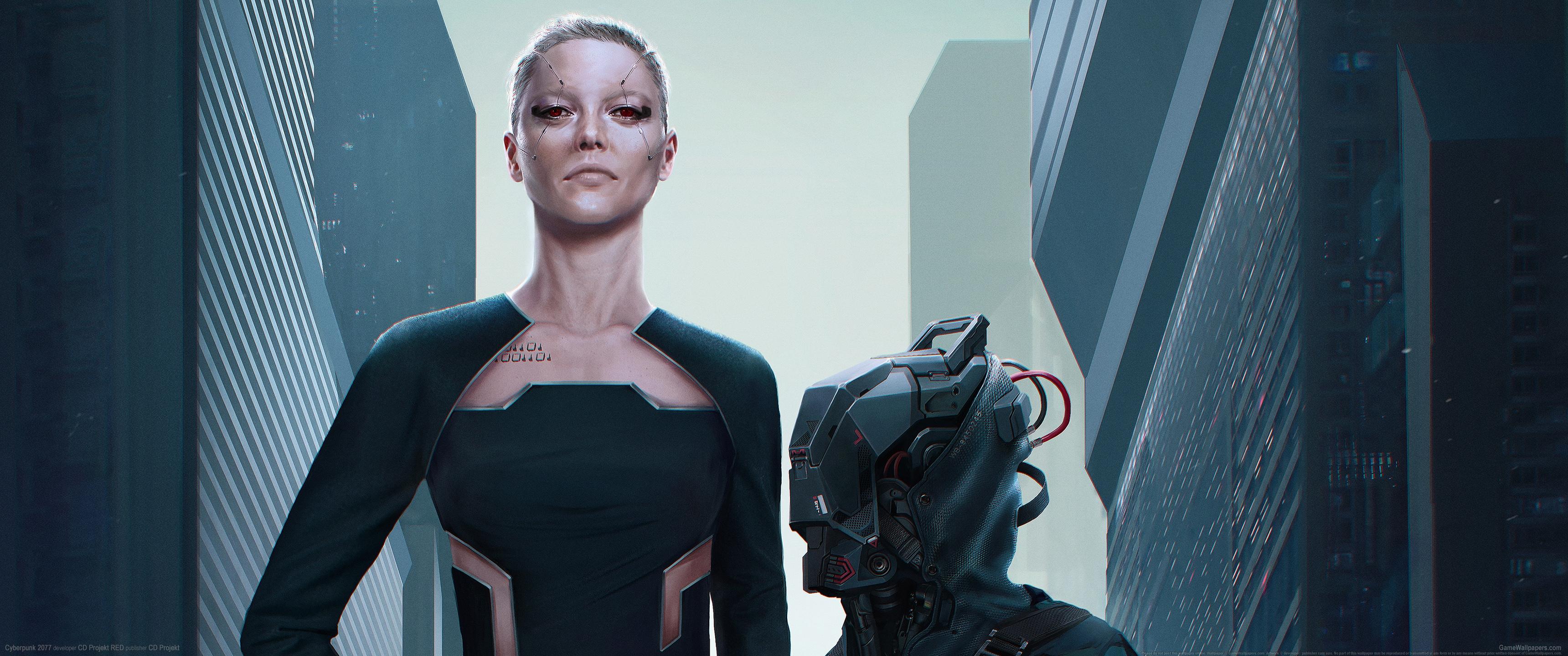 Cyberpunk 2077 3440x1440 fond d'écran 22