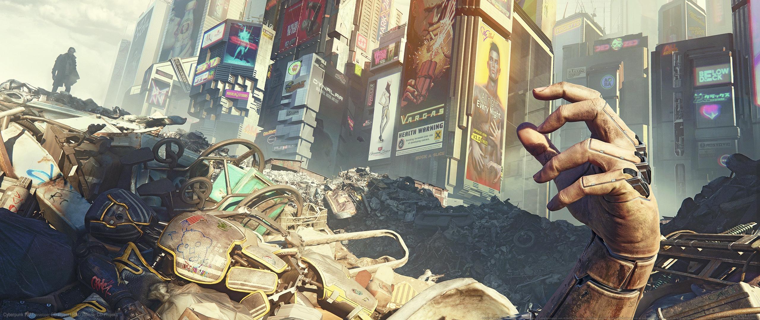 Cyberpunk 2077 2560x1080 fond d'écran 25