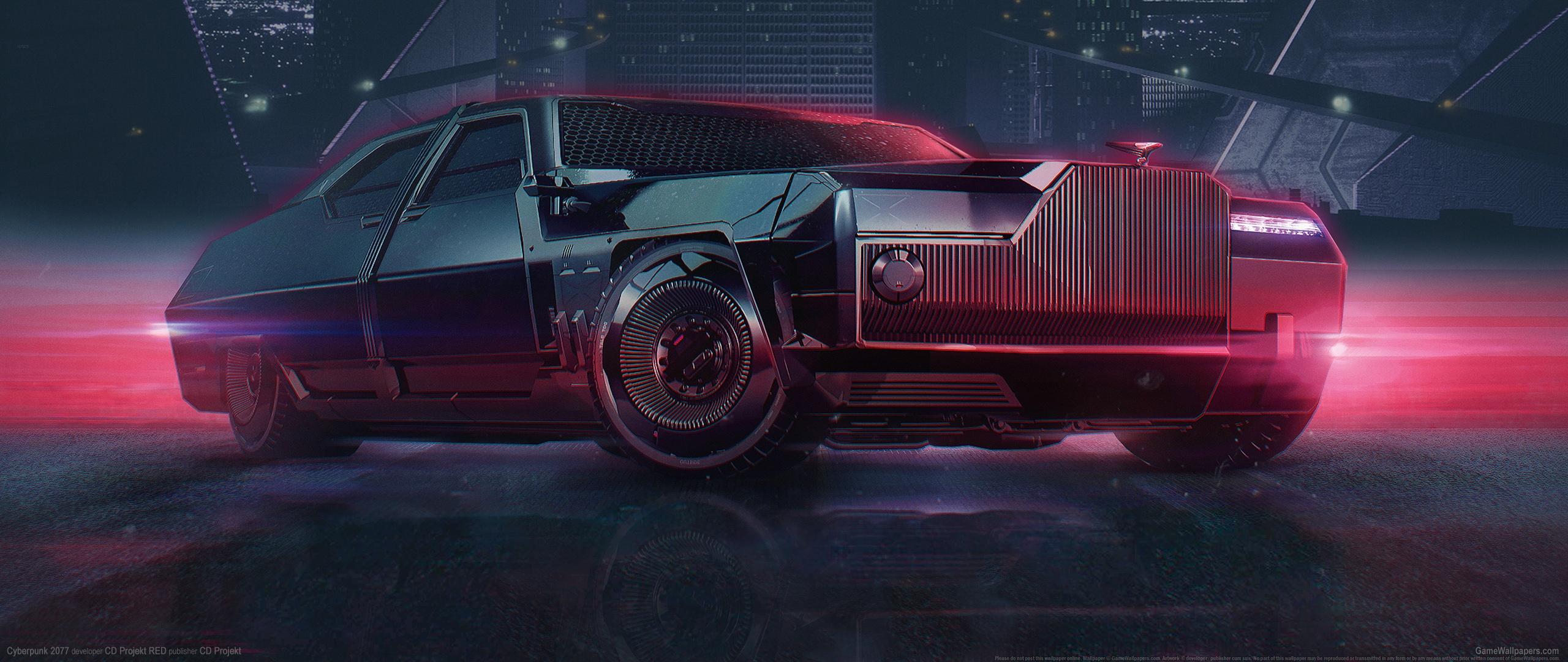 Cyberpunk 2077 2560x1080 achtergrond 26