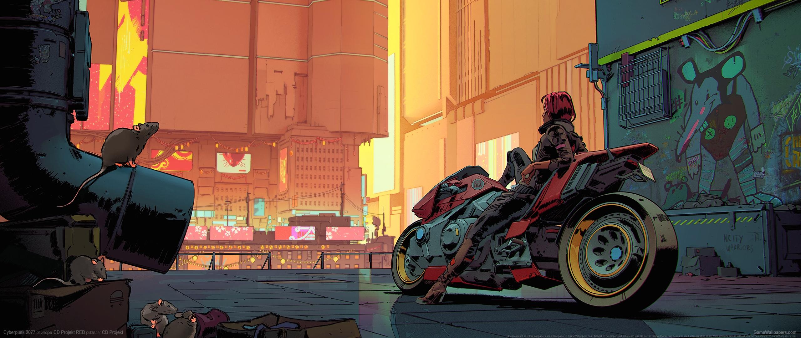 Cyberpunk 2077 2560x1080 fond d'écran 27