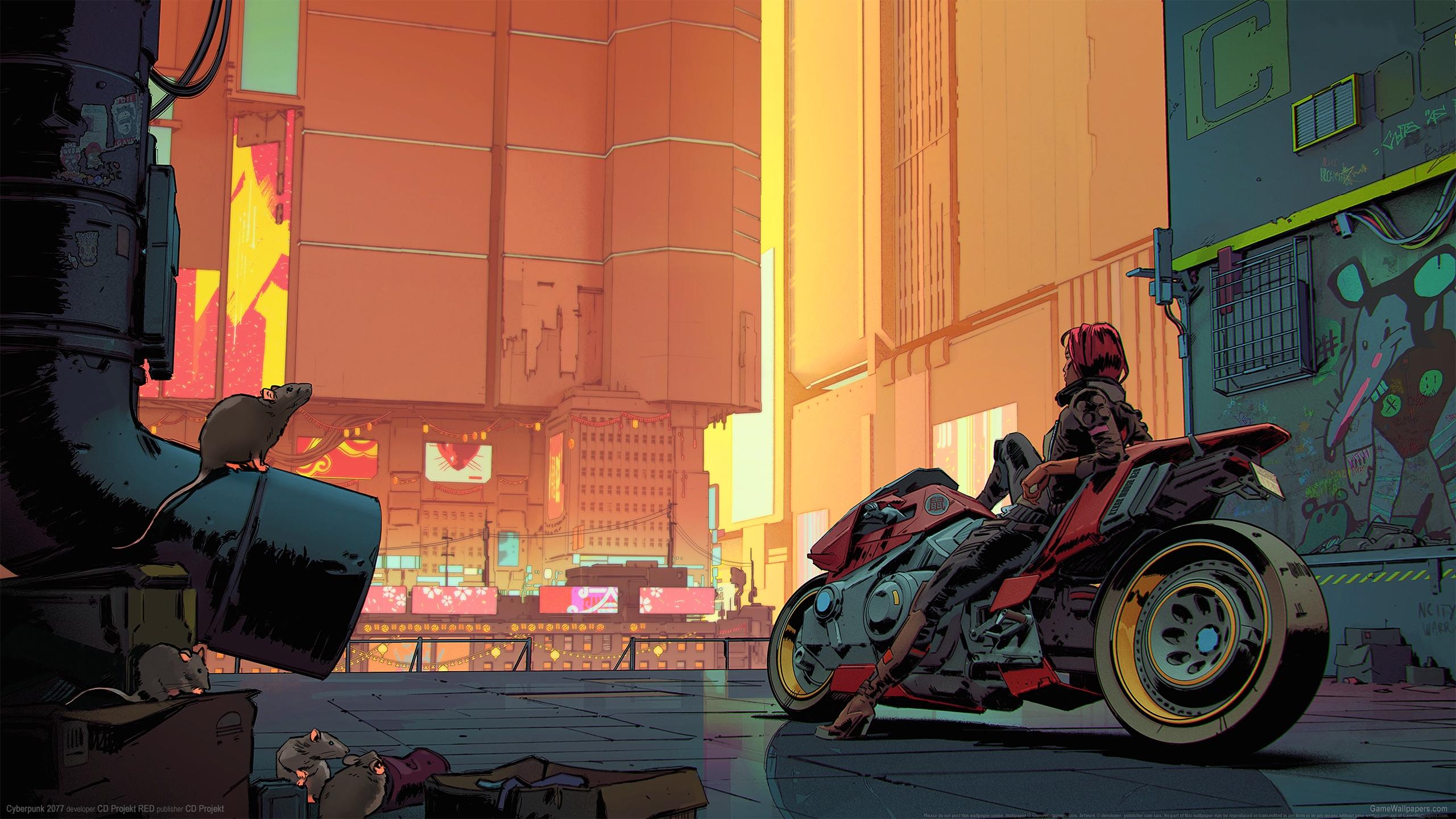 Cyberpunk 2077 2560x1440 Hintergrundbild 27