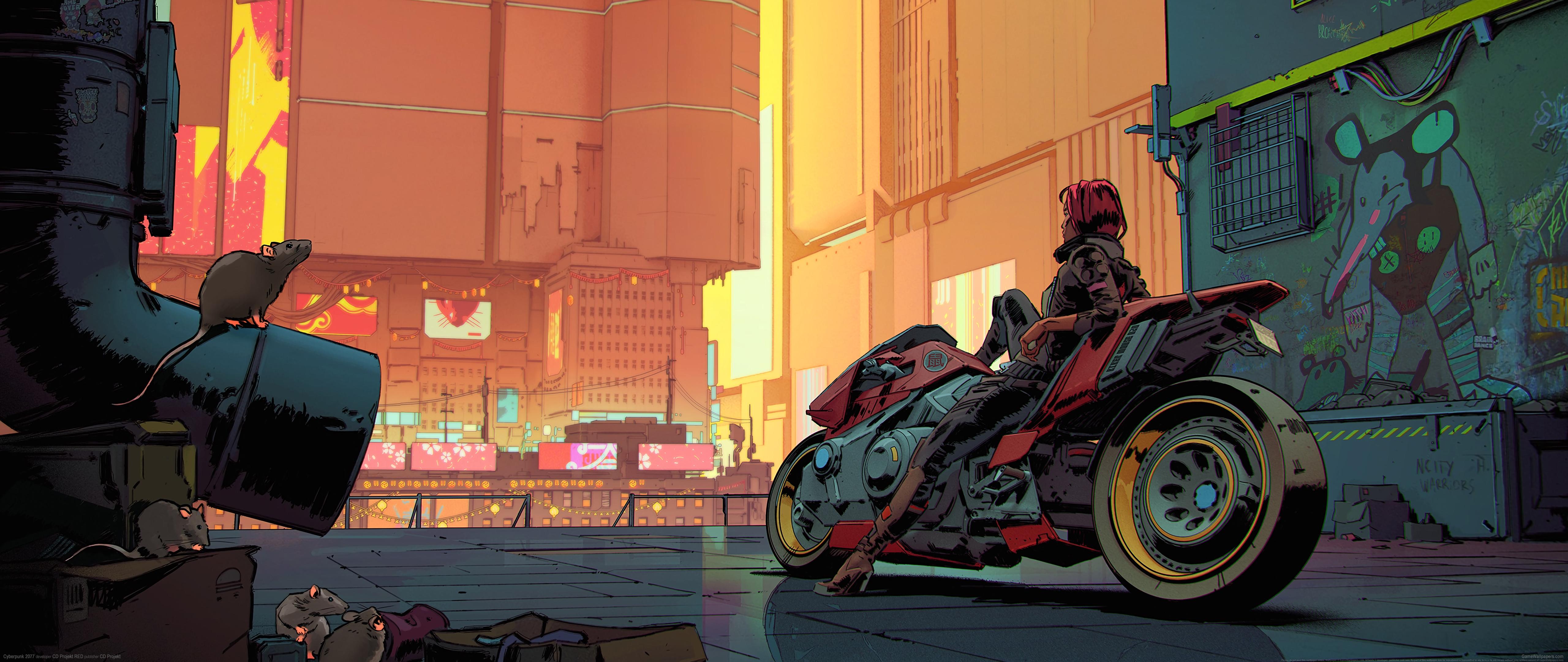 Cyberpunk 2077 5120x2160 fond d'écran 27