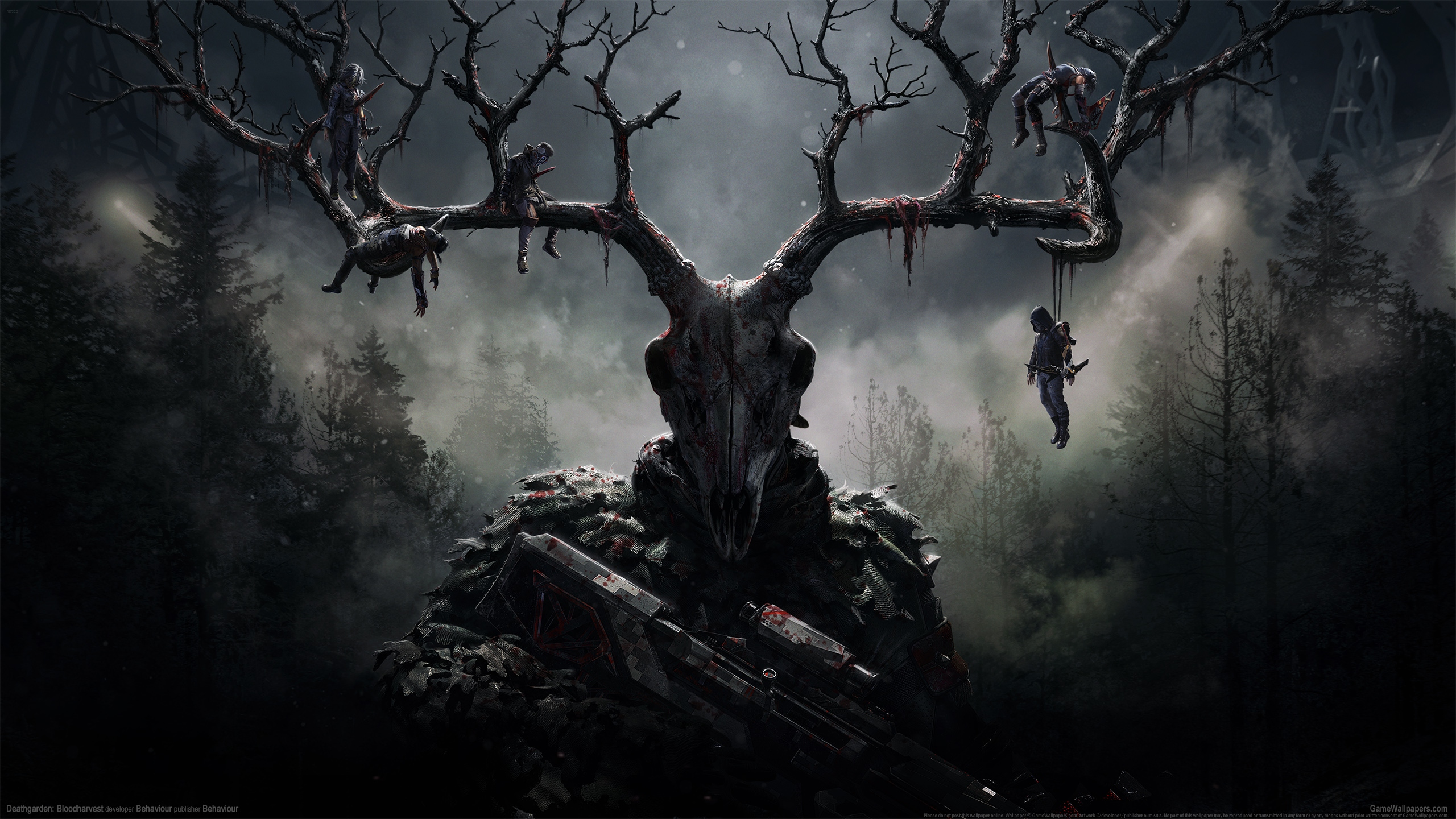 Deathgarden: Bloodharvest 2560x1440 wallpaper or background 01