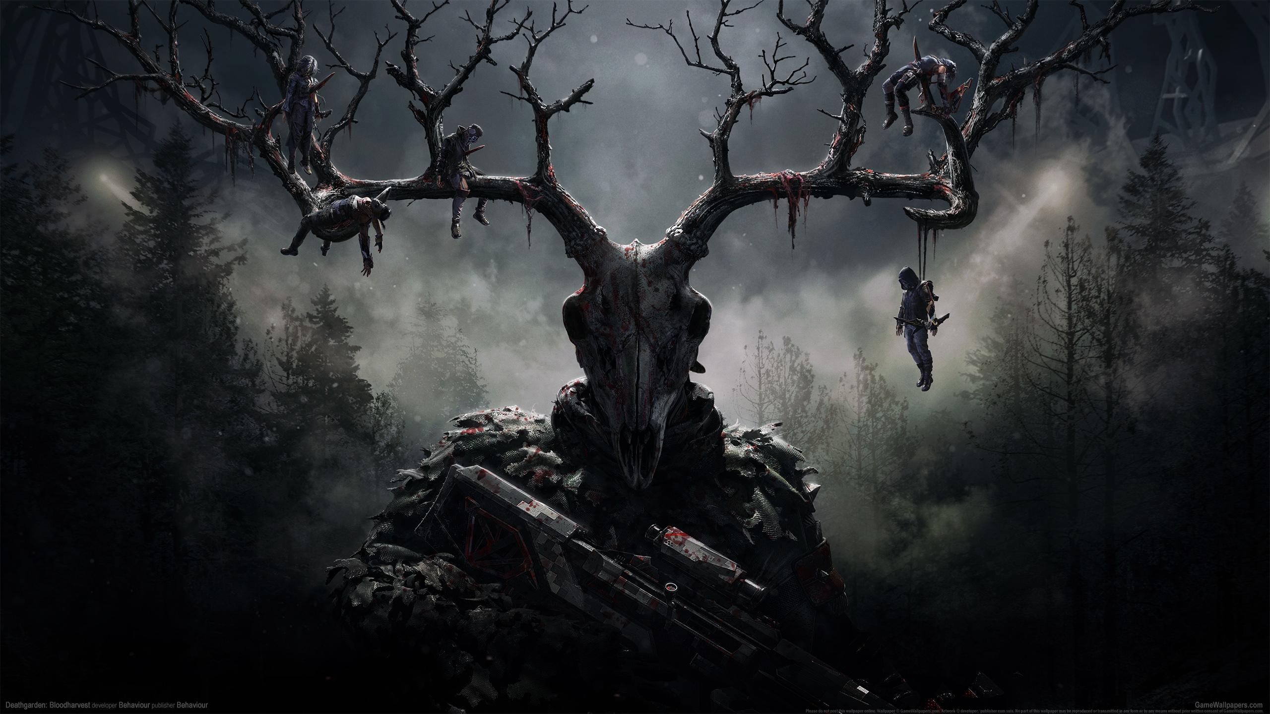 Deathgarden: Bloodharvest 2560x1440 achtergrond 01
