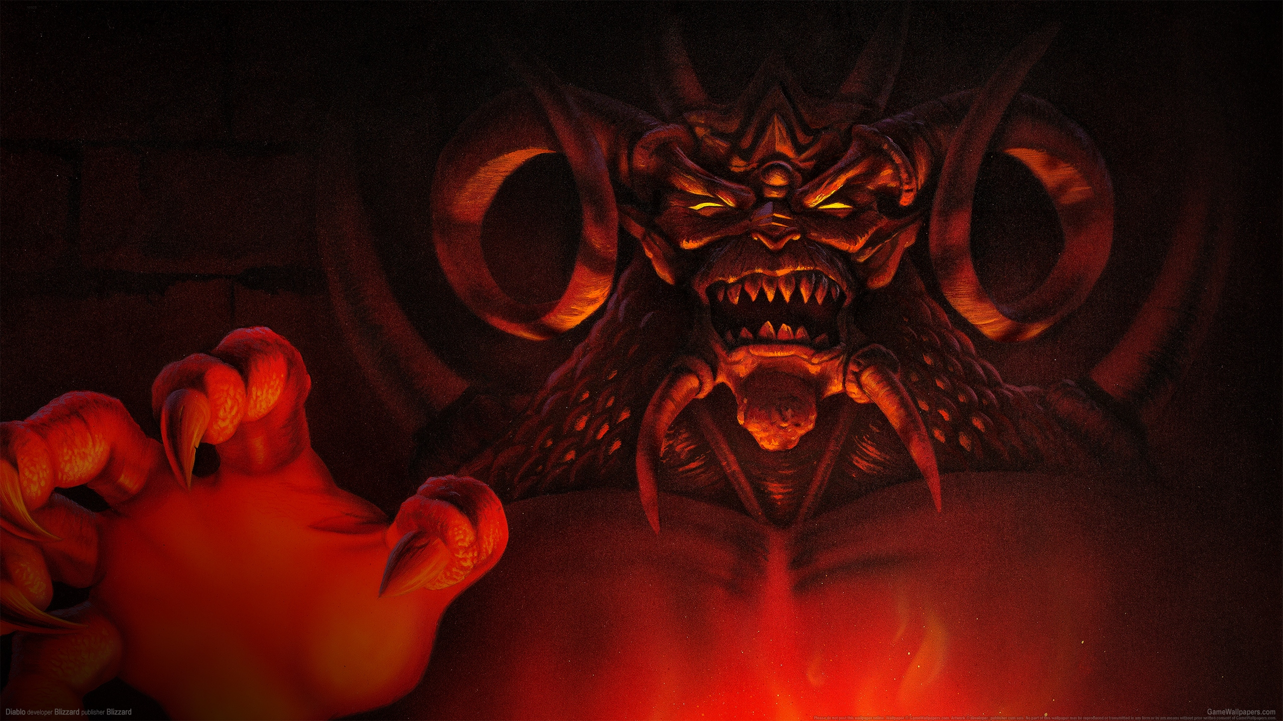Diablo 2560x1440 Hintergrundbild 01