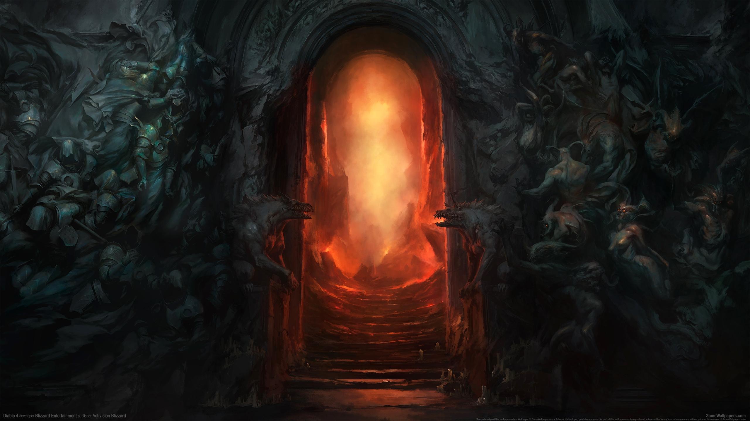 Diablo 4 2560x1440 wallpaper or background 01