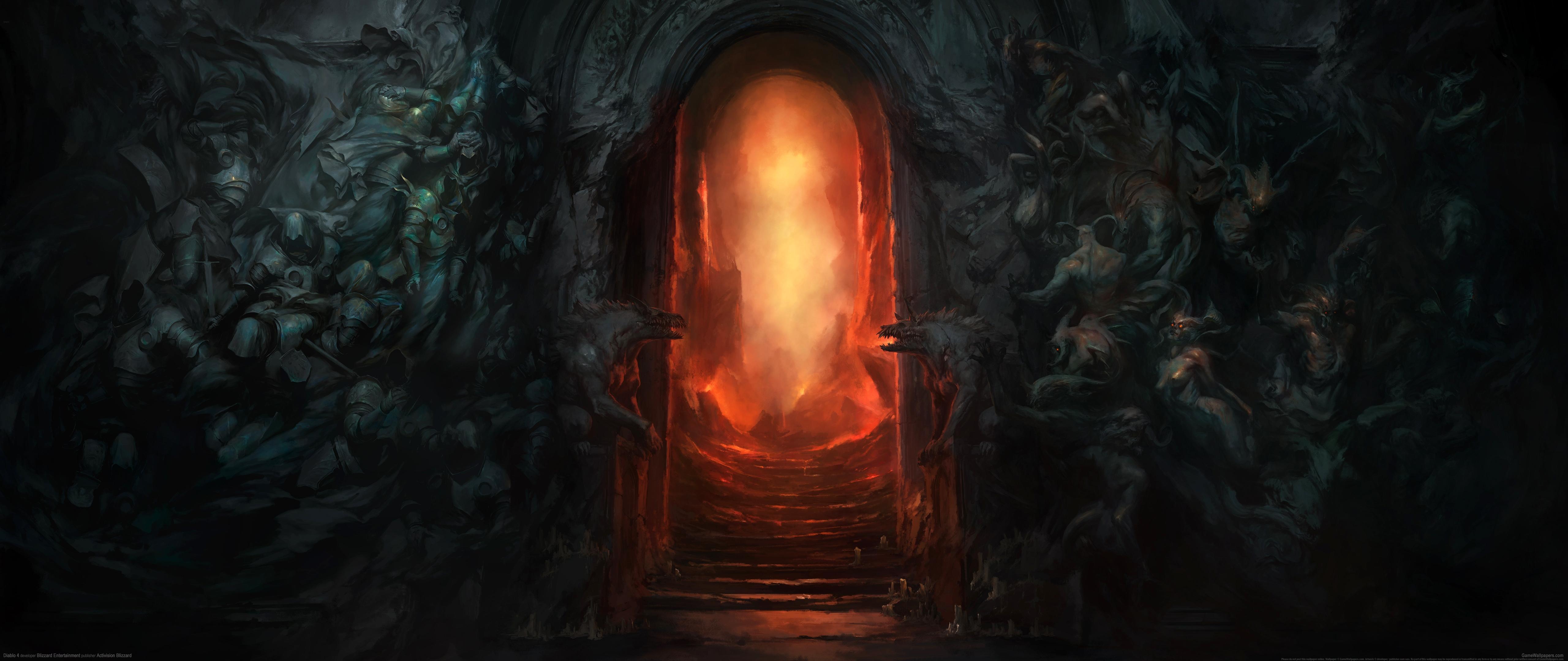 Diablo 4 5120x2160 Hintergrundbild 01
