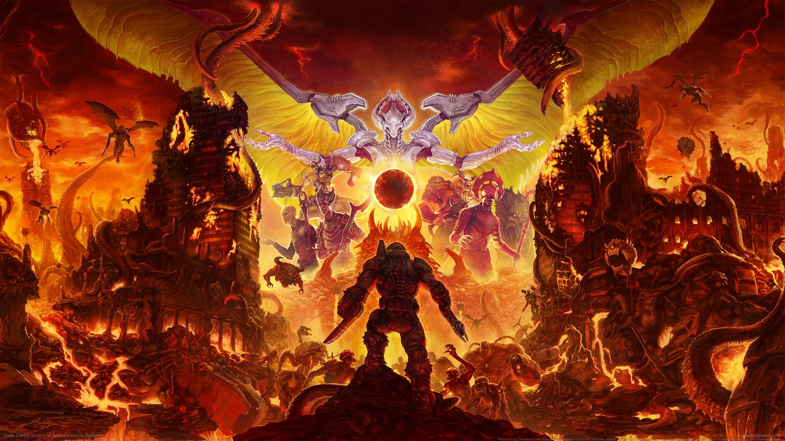 Doom Eternal 2560x1440 Hintergrundbild 08