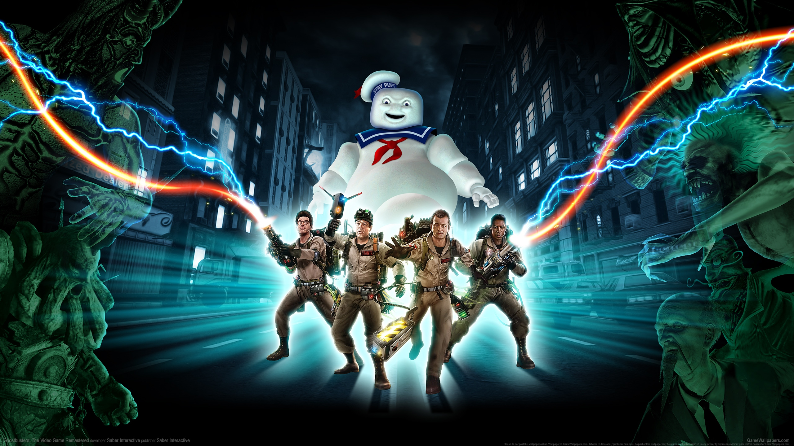 Ghostbusters: The Video Game Remastered 2560x1440 fond d'écran 01