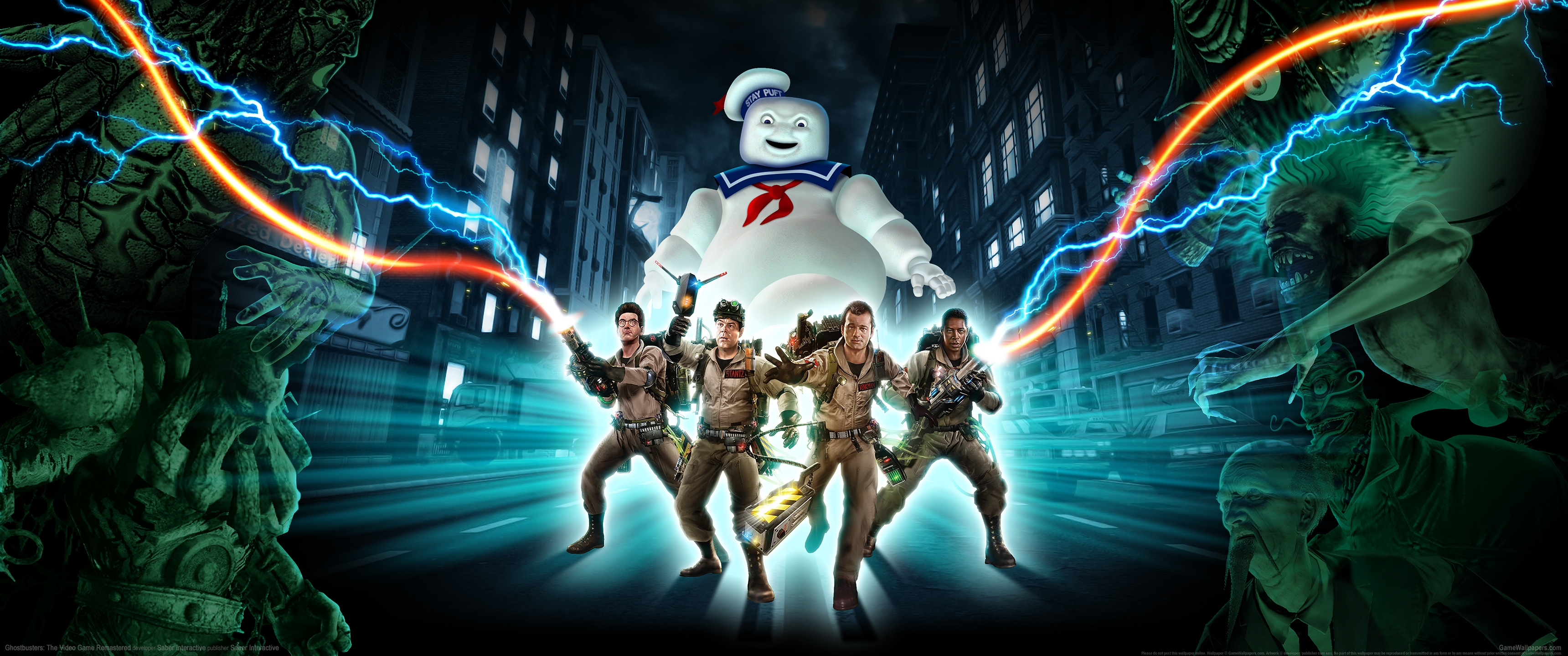 Ghostbusters: The Video Game Remastered 3440x1440 Hintergrundbild 01
