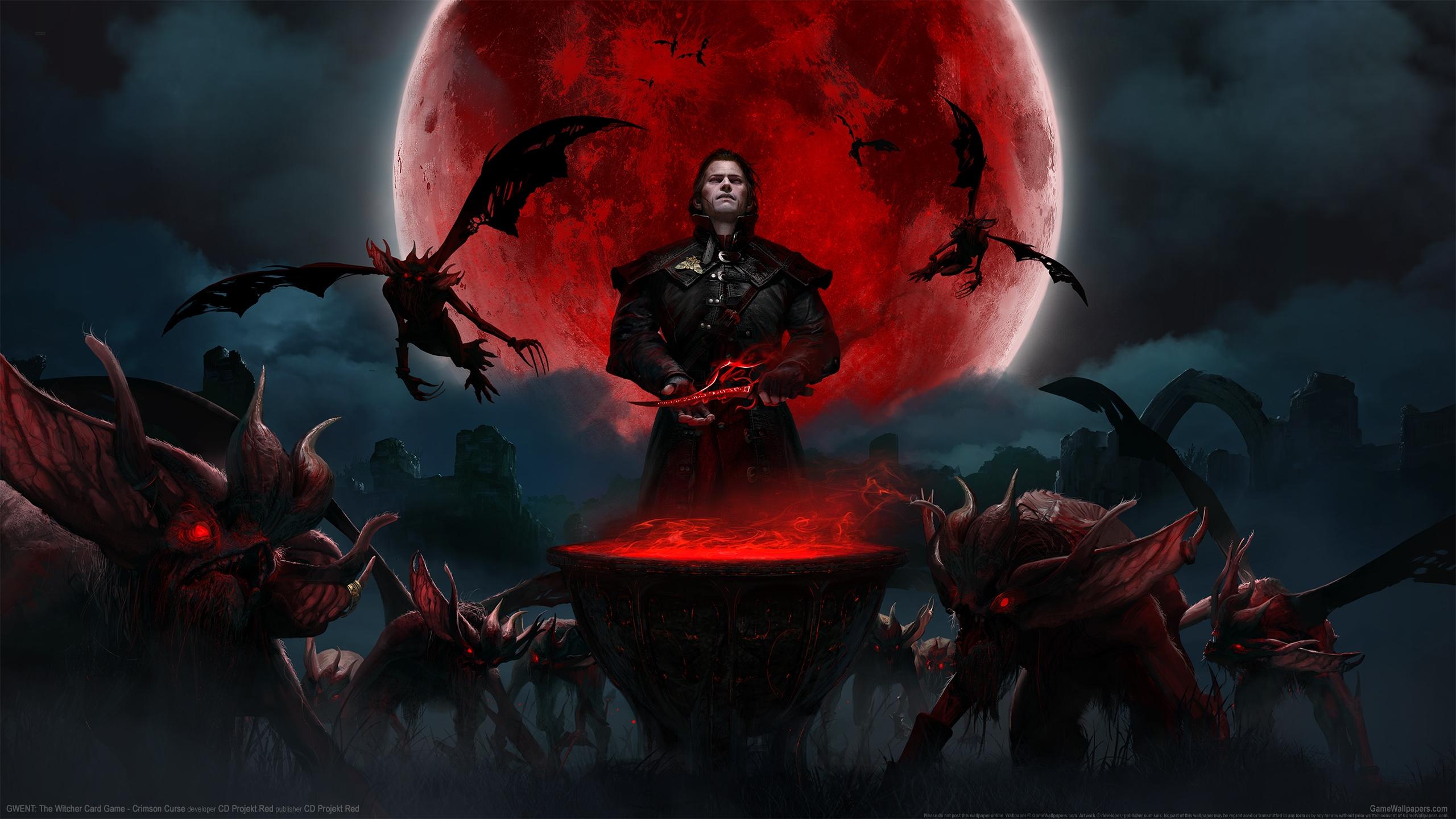 GWENT: The Witcher Card Game - Crimson Curse 2560x1440 Hintergrundbild 01