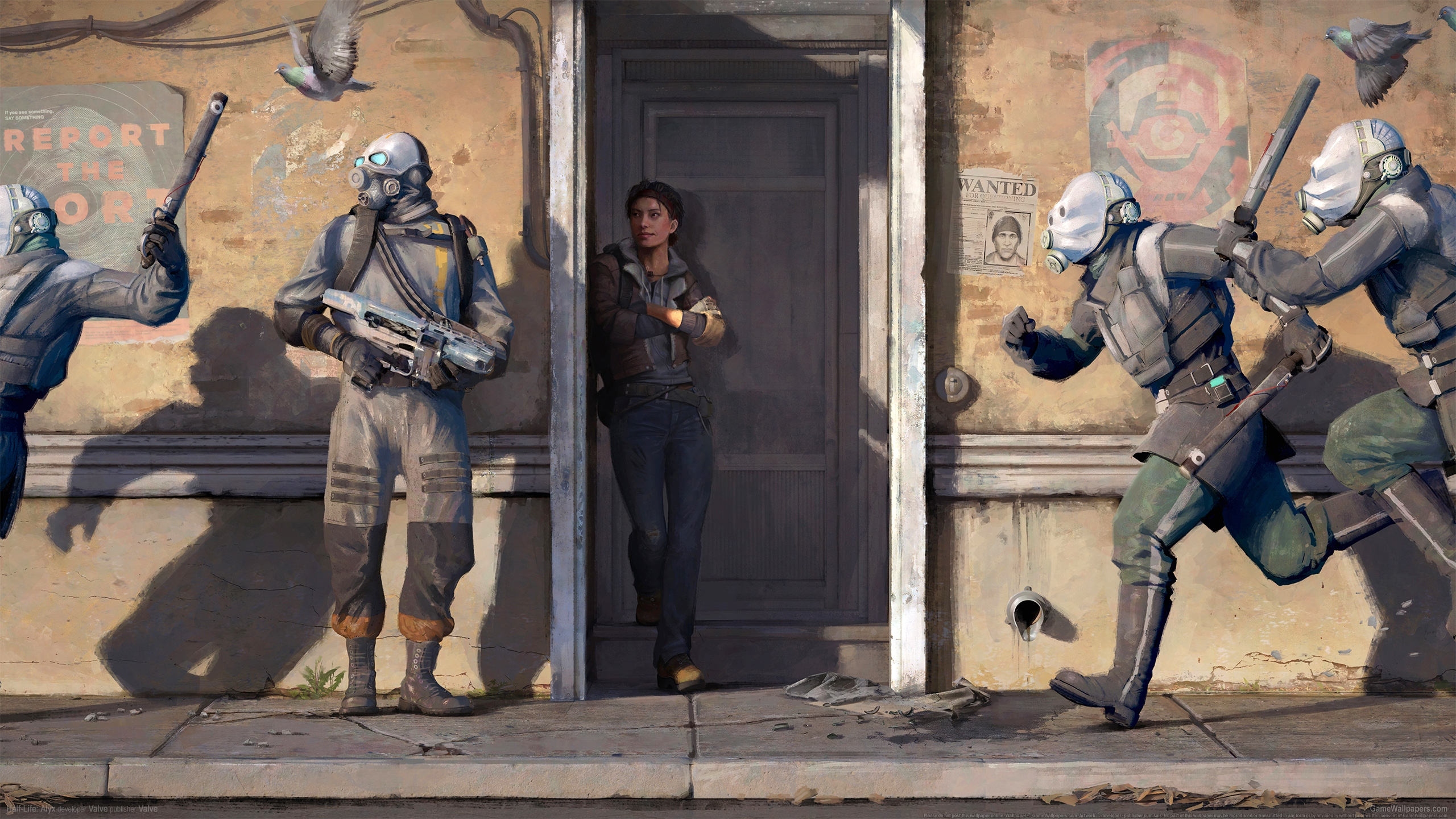 Half-Life: Alyx 2560x1440 wallpaper or background 01