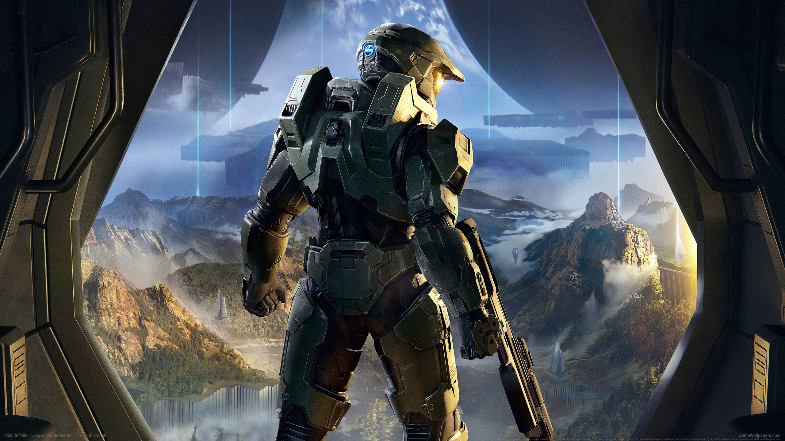 Halo: Infinite 2560x1440 wallpaper or background 02