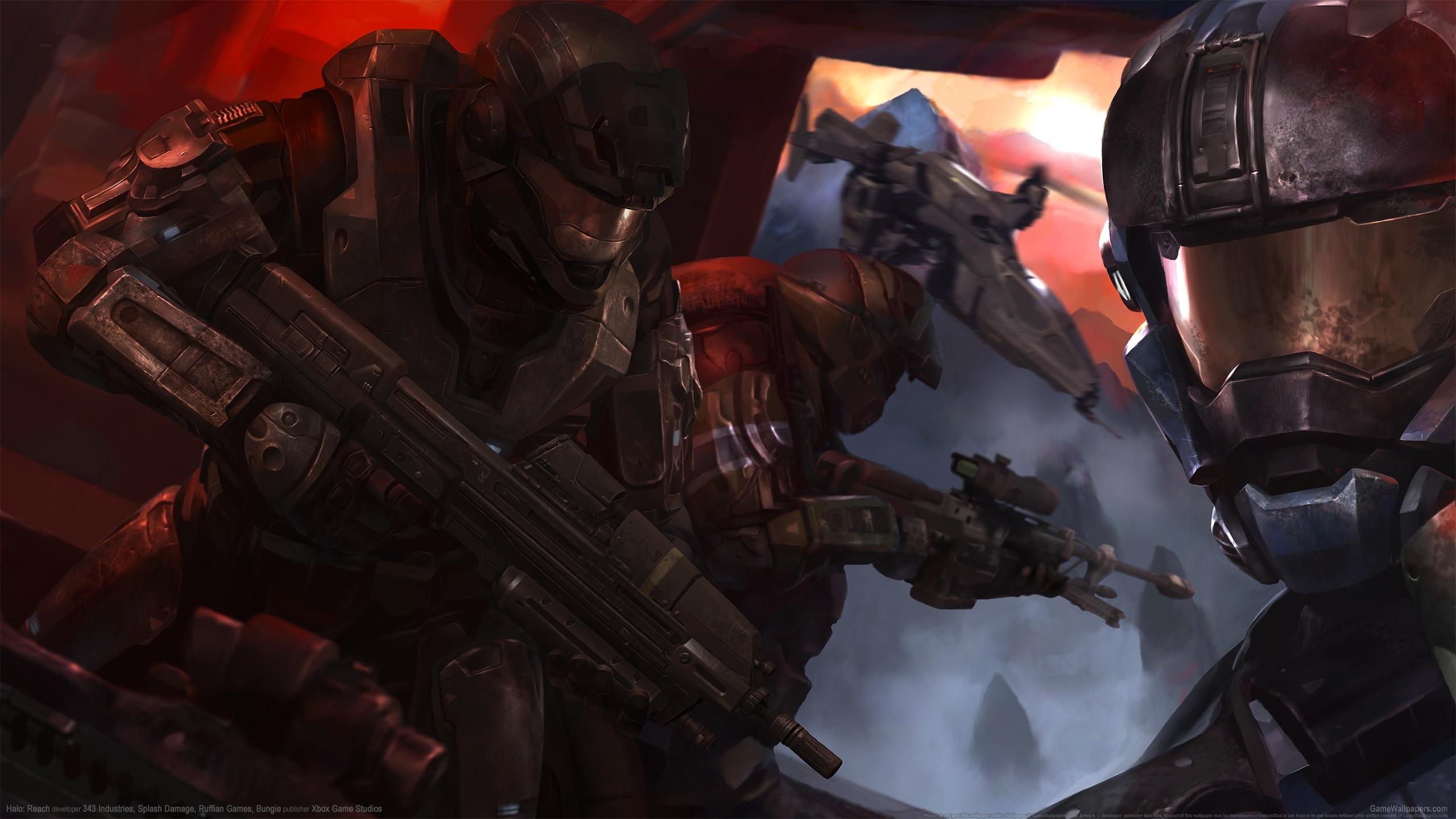 Halo: Reach 2560x1440 fondo de escritorio 09