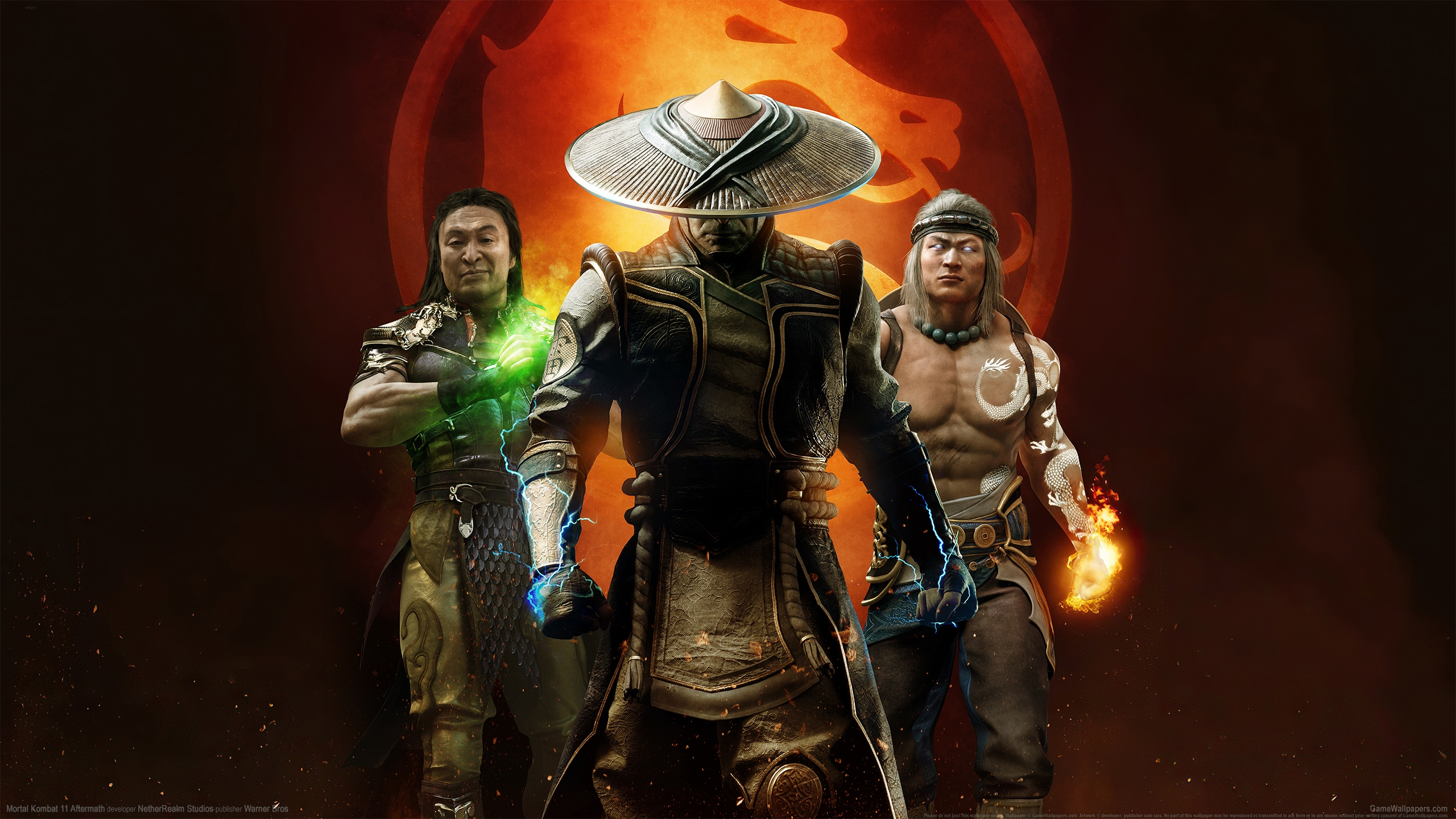 Mortal Kombat 11 Aftermath 2560x1440 wallpaper or background 01
